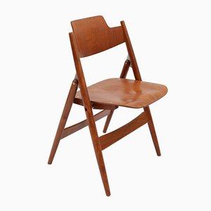 Folding Chair Model SE18 by Egon Eiermann for Wilde & Spieth