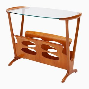 Magazine Rack Table by Cesare Lacca
