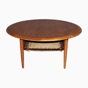 Danish Teak Coffee Table from CFC Silkeborg, 1960s