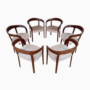 Vintage Armchairs, Set of 6