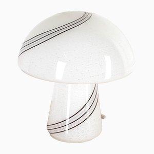 Italian Murano Glass Mushroom Lamp from Vistosi