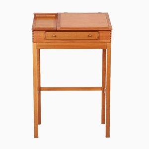 Danish Cherry Wood Desk by Andreas Hansen for Hadsten Træindustri