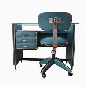 Office Desk by Umberto Mascagni, 1950s, Set of 2