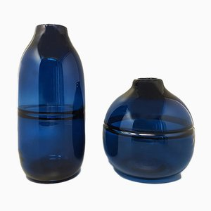 Space Age Vase, Italy, 1970s, Set of 2