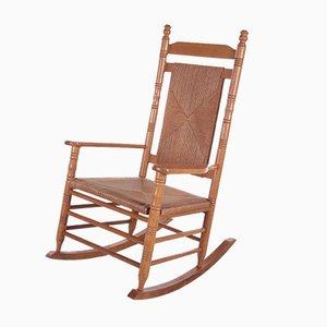 Brutalist Style Scandinavian Rocking Chair