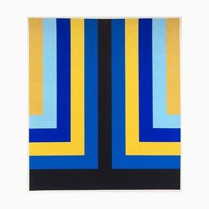 OP Art, Concrete Art, Screen Print, 1970s
