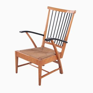 Wooden Relax Chair, Netherlands, 1950s