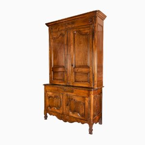 Louis XV Walnut Credenza with Lift