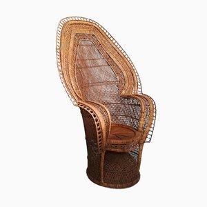 Vintage Peacock Cobra Chair