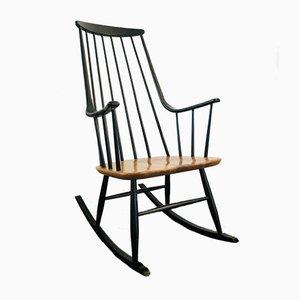Mid-Century Swedish Rocking Chair by Lena Larsson for Nesto, 1958