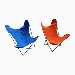 AA Butterfly Armchairs from Airborne, 1950s, Set of 2
