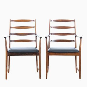 Model 113 A Armchairs by Torbjørn Afdal for Vamo Sønderborg, Set of 2