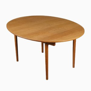 Extendable Dining Table in Oak by Hans Wegner for Andreas Tuck, 1960s