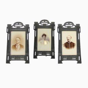 20th Century Trio of Frames, Set of 3