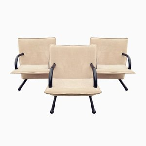 Chairs by Burkhard Vogtherr for Arflex, Set of 3