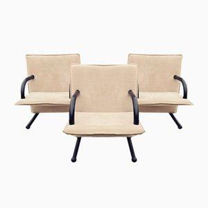 Stühle von Burkhard Vogtherr für Arflex, 3er Set