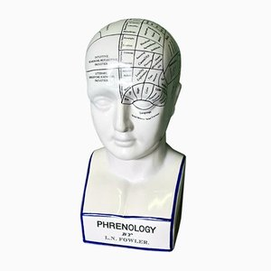 Phrenology Head by L. N. Fowler, 1990s