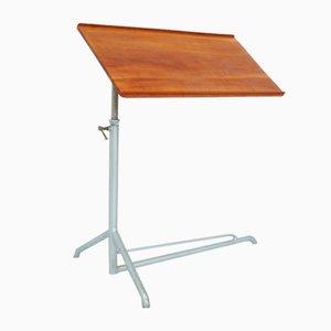 Adjustable Caruelle Side Table from Embru Werke, Switzerland, 1930s