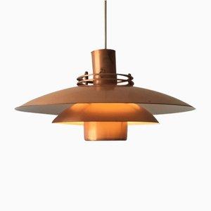 Danish Copper Pendant Lamp from Form Light, 1960s