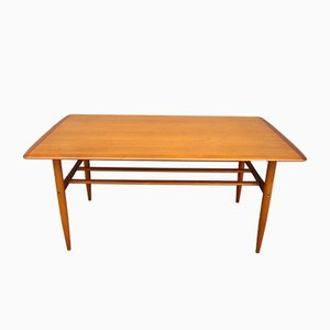 Scandinavian Teak Coffee Table from Alberts Tibro, 1964