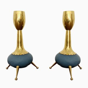 Table Lamps, 1950s, Set of 2
