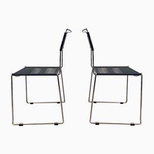 Spaghetti Chairs by Giandomenico Belotti, Set of 2