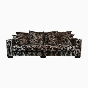 Zebra Print Sofa by Michael Tyler