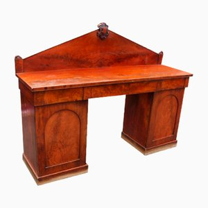Mahogany Dog Kennel Sideboard with Back, 1900s