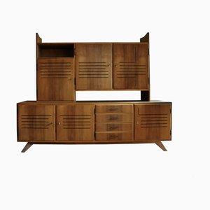 Oak Bookcase, 1950s