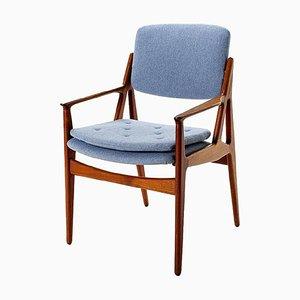 Vintage Danish Armchair by Arne Vodder for Vamo