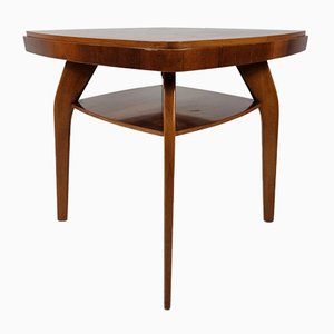 Walnut Table by Jindřich Halabala, 1950s