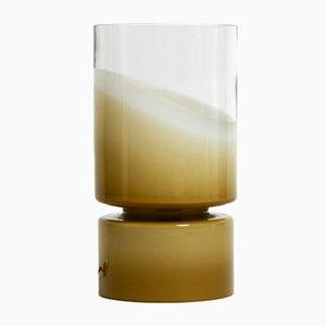 Large Round Italian Murano Glass Table Lamp by V. Nason, 1960s