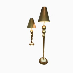 Leeazanne Table Lamp and Floor Lamp from Lam Lee, Set of 2