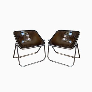 Plona Armchairs by Giancarlo Piretti for Castles, Set of 2
