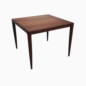 Mid-Century Danish Rosewood Coffee Table by HW Klein for Bramin, 1960s