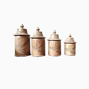 Ceramic Pots, Set of 4