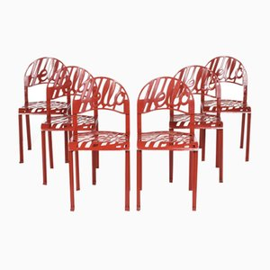Chairs by Jeremy Harvey for Artifort, Set of 6