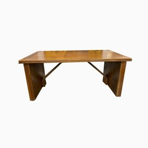 Wooden Desk by Giuseppe Rivadossi, 1960s