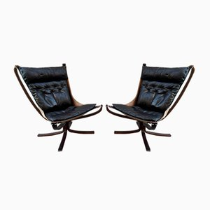 Falcon Chairs by Sigurd Resell, 1970s, Set of 2