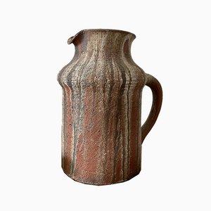 Large Ceramic Sculptural Art Pottery Vase by Gerhard Liebenthron, 1970s