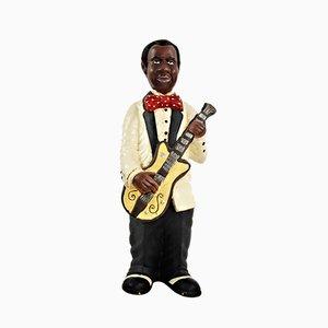 Vintage Statuette of Jazz Singer