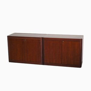 Model 4D Sideboards by Angelo Mangiarotti for Molteni, Set of 2