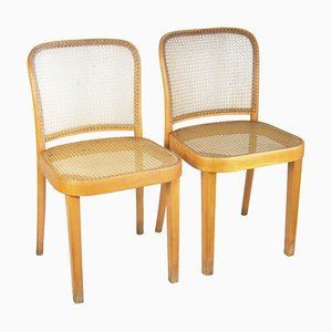 811 Chairs by Josef Hoffmann for Thonet, Set of 2
