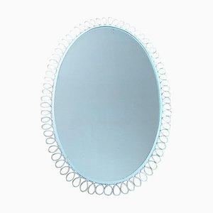 Mid-Century Wall Mirror, Italy, 1970s