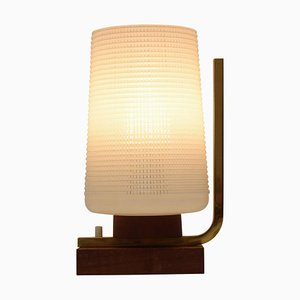 Mid-Century Wood Table Lamp, 1950s