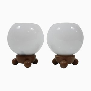 Type 81 Table Lamps from Inlux, 1970s, Set of 2