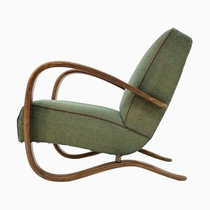 Early H-269 Armchair by Jindřich Halabala for Thonet, 1930s