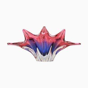 Art Glass Bowl by Josef Hospodka for Chribska, 1960s