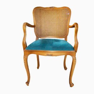 Upholstered Armchair in Solid Wood from Warrings