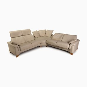Paradise Cream Leather Sofa from Stressless